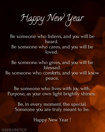 Happy New Year Poems and Images