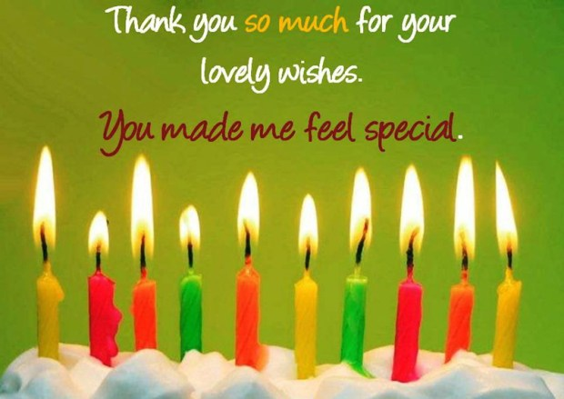 Birthday Thank You Messages For Friends
