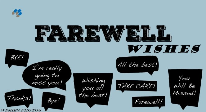 Farewell-Wishes