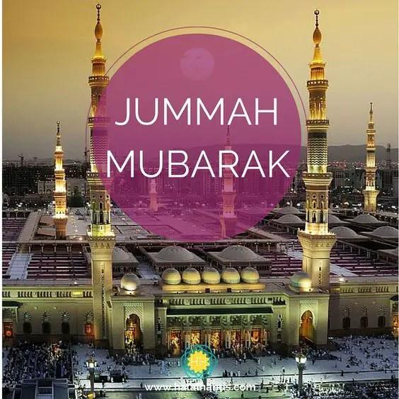 beautiful jummah mubarak