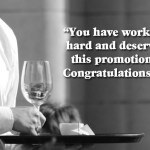 Promotion Wishes And Quotes 2016