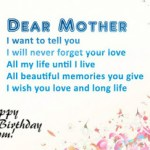 Birthday Wishes And Quotes For Mom