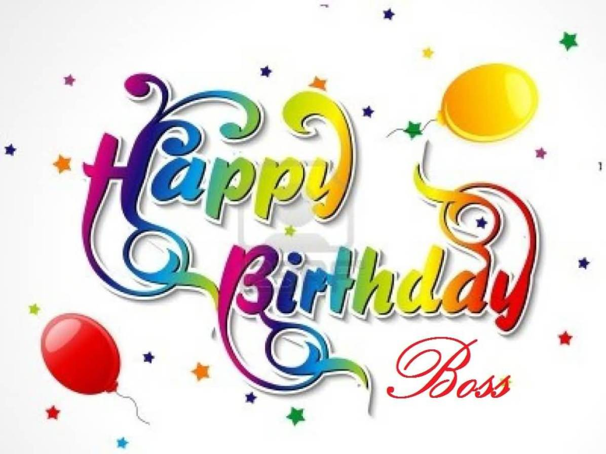 Birthday Wishes For Boss - Wishes Choice