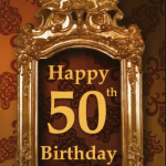 50th Birthday Wishes And Greetings 2017