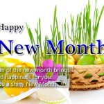 Happy New Month Wishes 2017