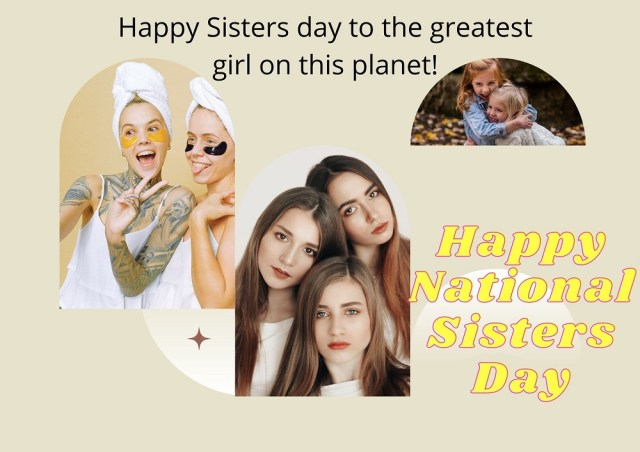 Happy National Sister Day Wishes Images