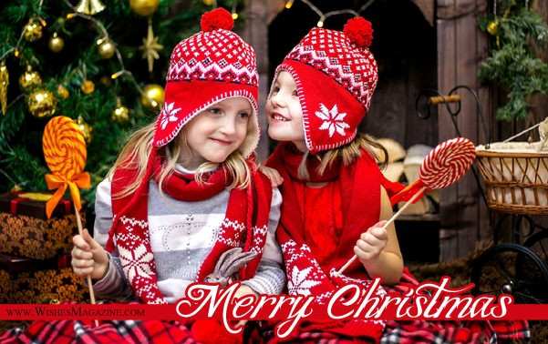Merry Christmas Wishes Sayings For Kids