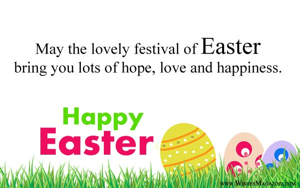 Happy Easter Greeting Wishes Card