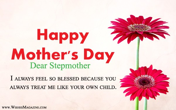 Happy Mothers Day Wishes Messages for Stepmother