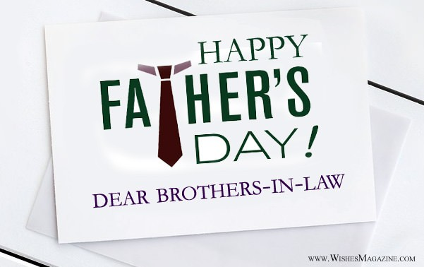happy fathers day wishes messages for brother in law