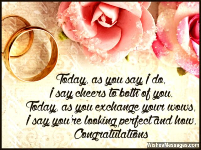 Wedding Card Quotes And Wishes Congratulations Messages Wishesmessages Com
