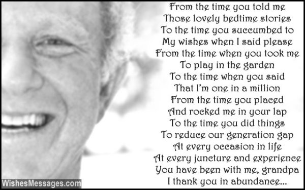 Birthday Poems for Grandpa – WishesMessages.com