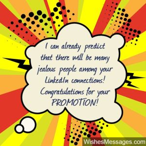 Congratulation On Promotion Email | officesetupus