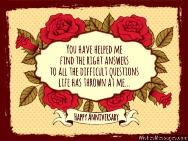 Anniversary Wishes For Wife Quotes And Messages For Her Wishesmessages Com