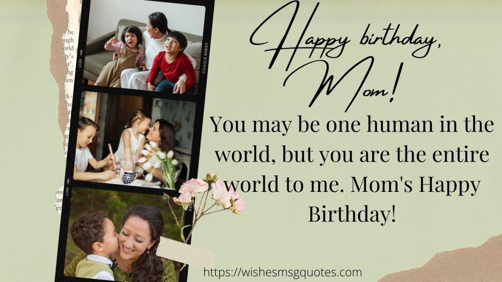 Birthday Messages For Mother From Daughter