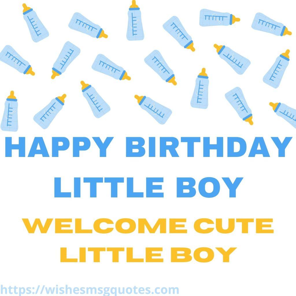 Birthday Wishes For Little Boy