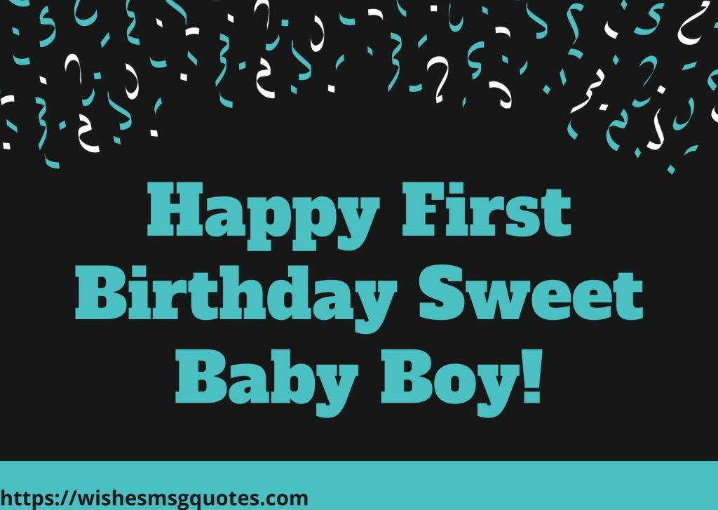 1st Birthday Messages From Grandfather To Baby Boy