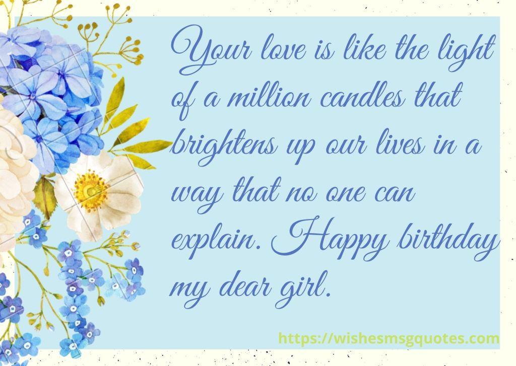 1st Birthday Wishes From Aunt To Baby Girl