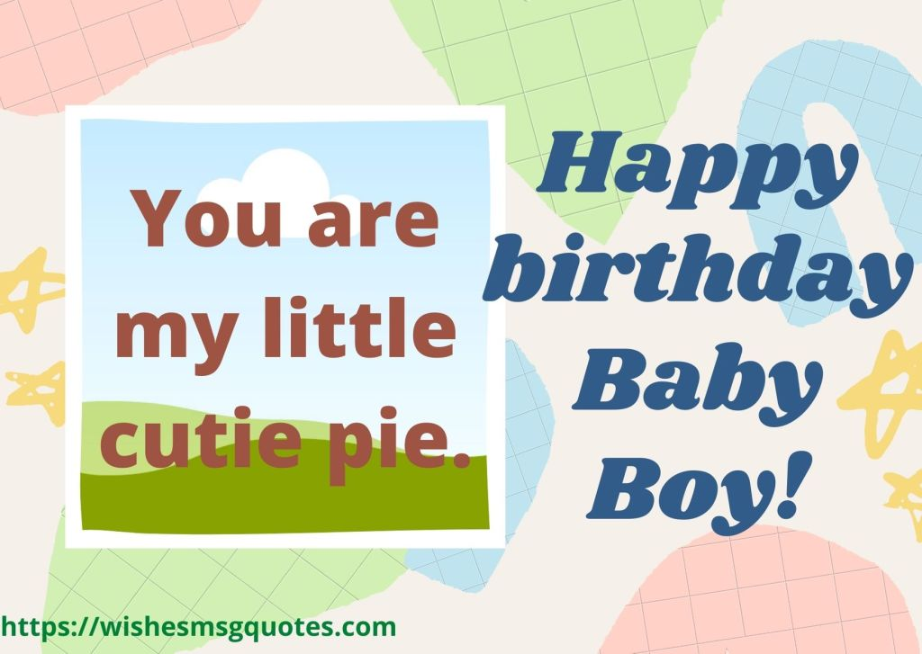 Birthday Wishes From Aunt To Baby Boy