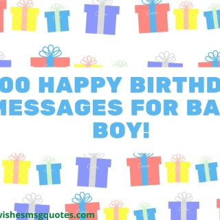 100 Happy 1st Birthday Messages For Baby Boy | 1st Birthday Messages For Baby Boy