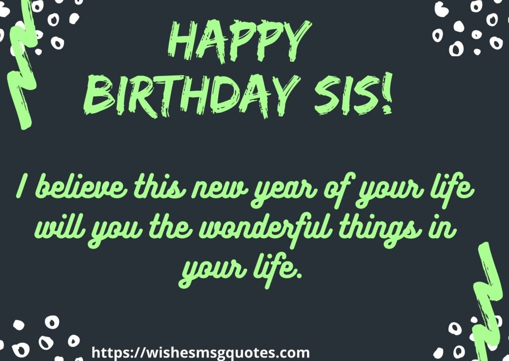 Inspirational Birthday Quotes For Sister