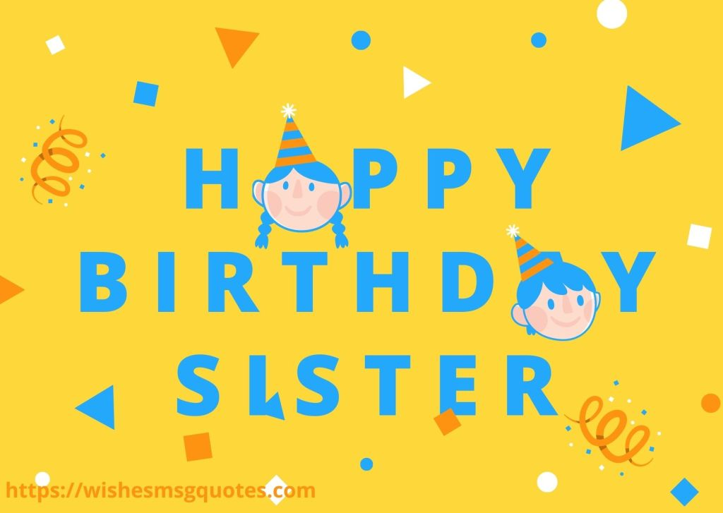 Funny Birthday Messages For Sister