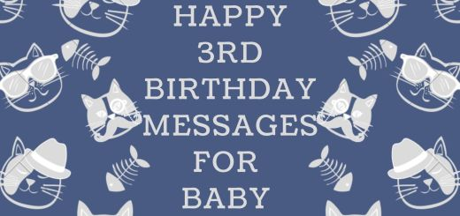 100 Happy 3rd Birthday Messages For Baby Boy