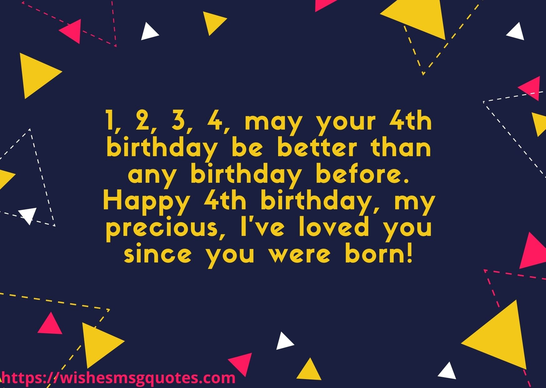 Birthday Messages For Baby Boy 4th Birthday