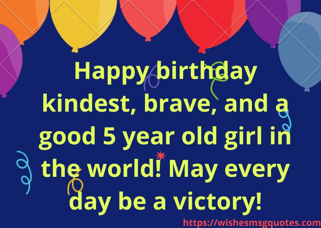 5th Birthday Quotes From Grandmother To Girl