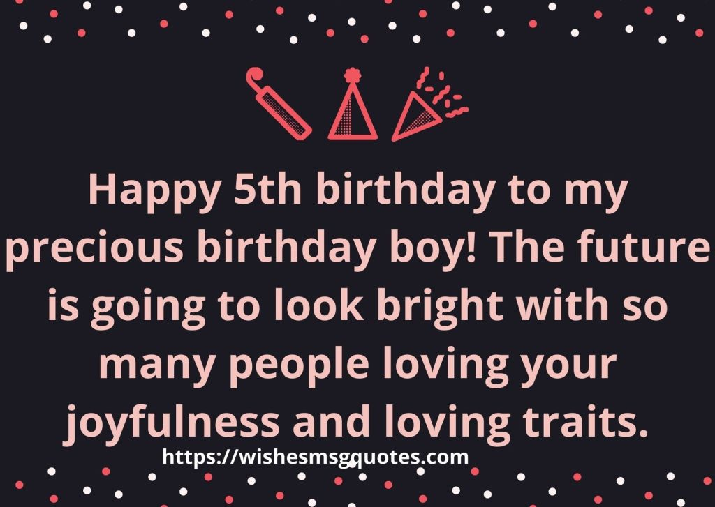 5th Birthday Quotes From Cousin To Boy