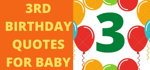 100 Happy 3rd Birthday Quotes For Baby Boy