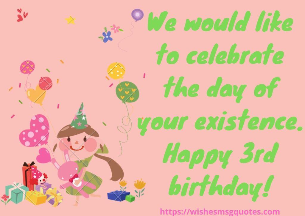 Birthday Quotes For Baby Boy 3rd Birthday