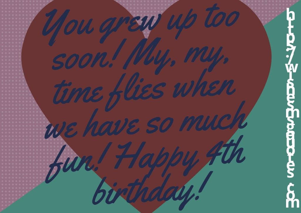 4th Birthday Quotes From Grandfather To Baby Girl