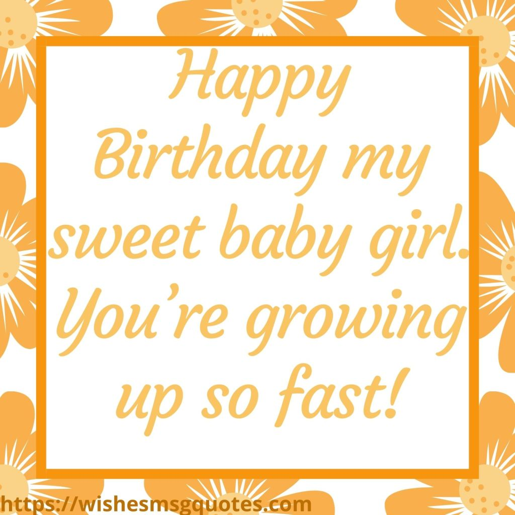 2nd Birthday Quotes From Father To Baby Girl