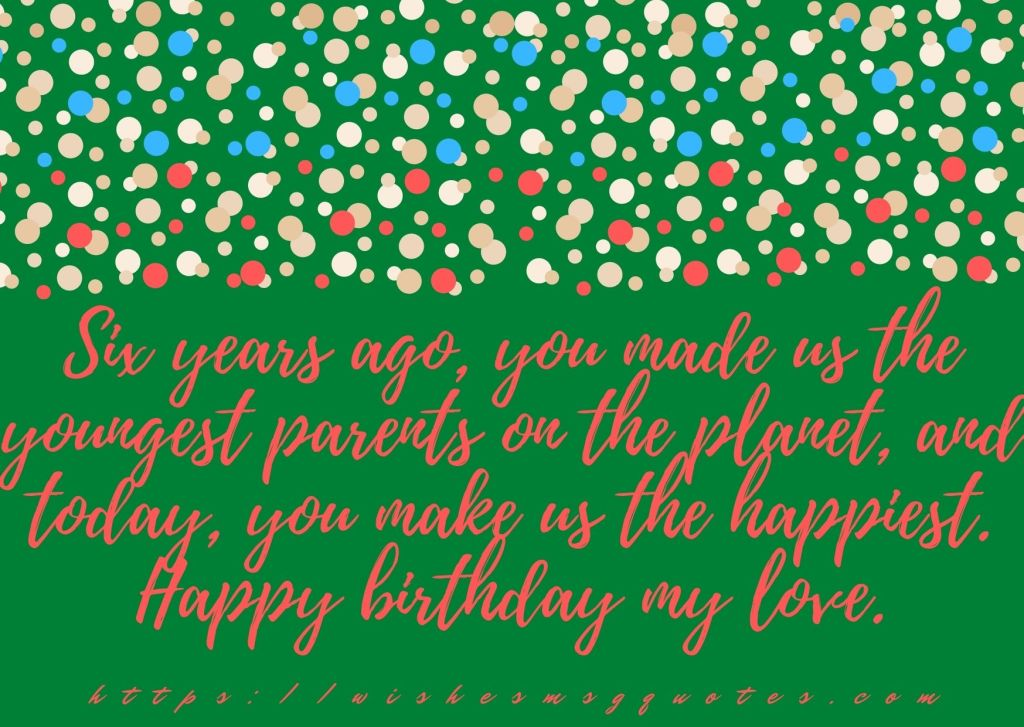 6th Birthday Messages From Uncle To Girl