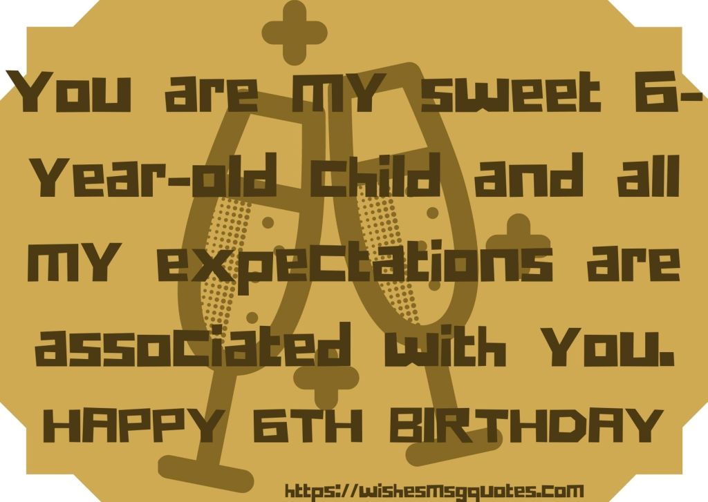 est 6th Birthday Messages For Girl From Father