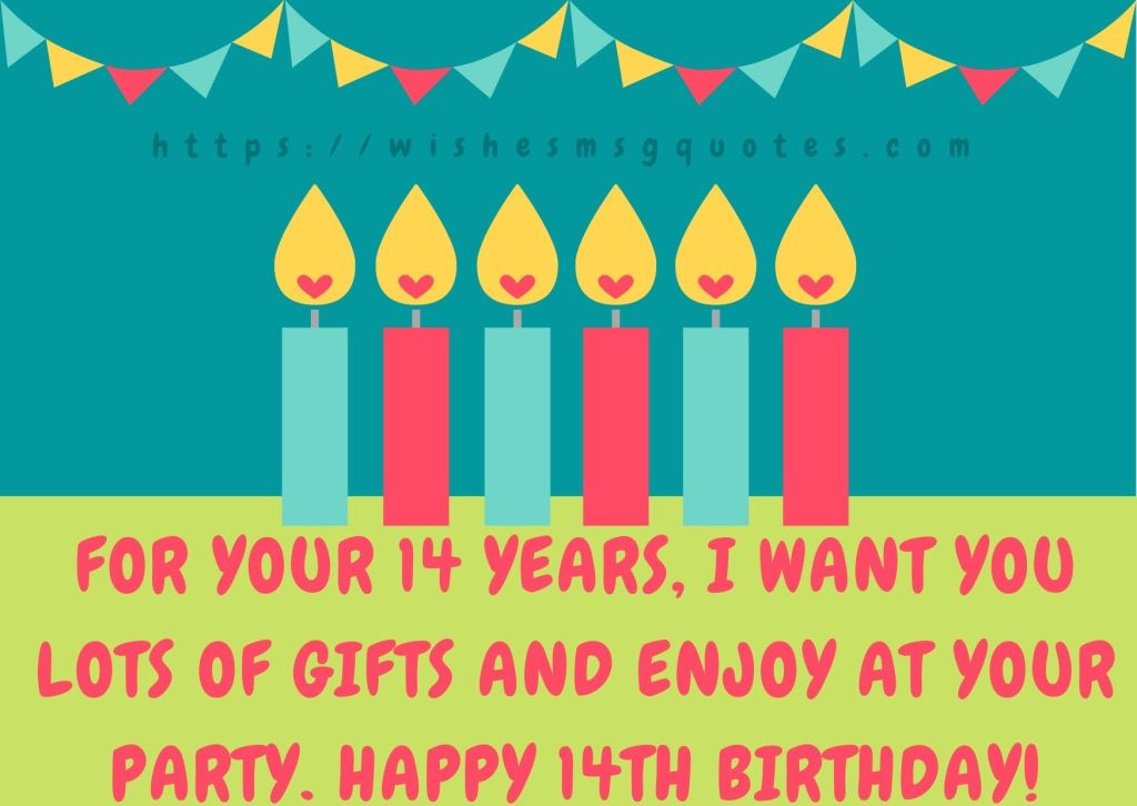 14th Birthday Quotes From Uncle To Boy Or Girl
