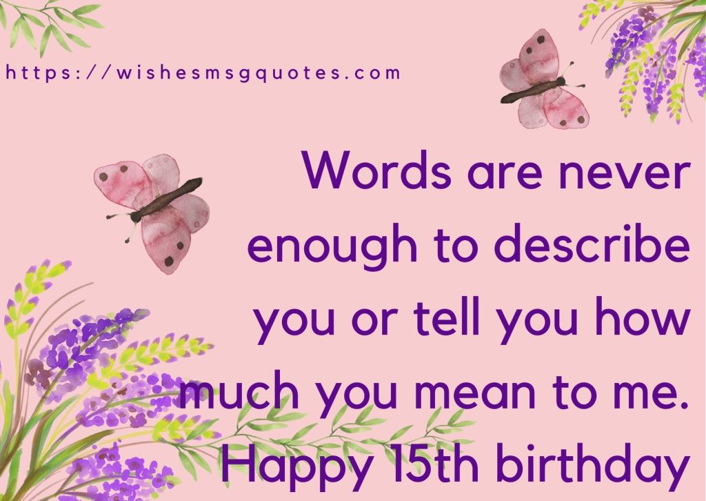 15th Birthday messages From Grandfather To Boy Or Girl
