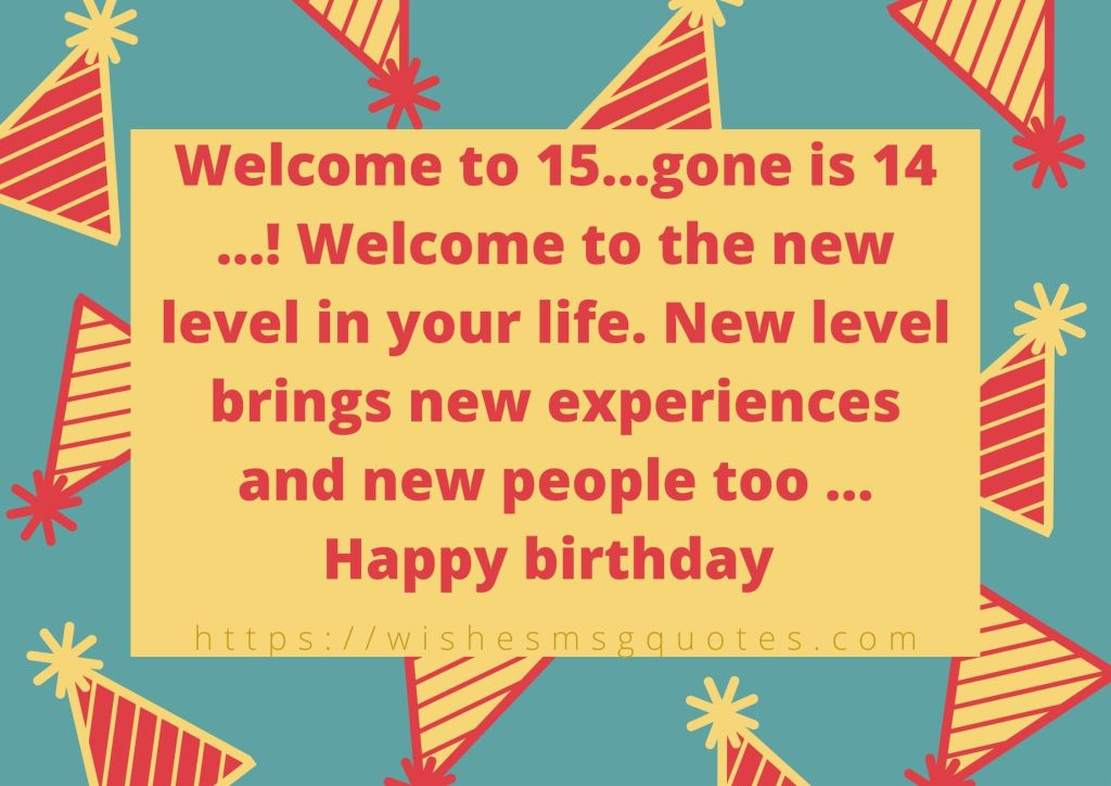 Cutest 15th Birthday messages For Boy Or Girl From Father