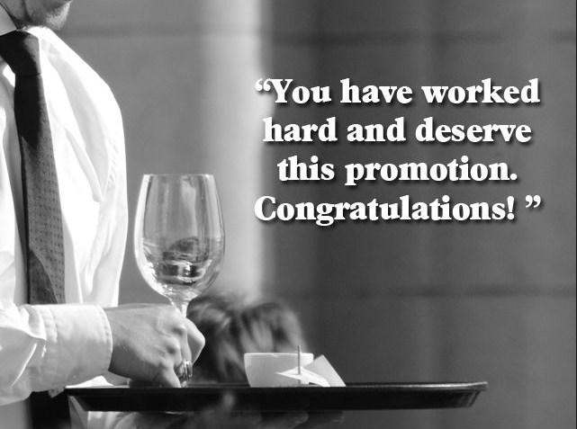 Best Decent Promotion Wishes 2016