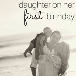 1st Birthday Wishes For Daughter From Parents 2017