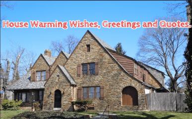 Housewarming Wishes