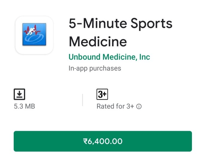 5-Minute Sports Medicine Android App Version 2.7.55 Free APK Download