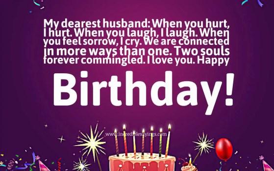 Best 20 Happy Birthday Wishes for hasband