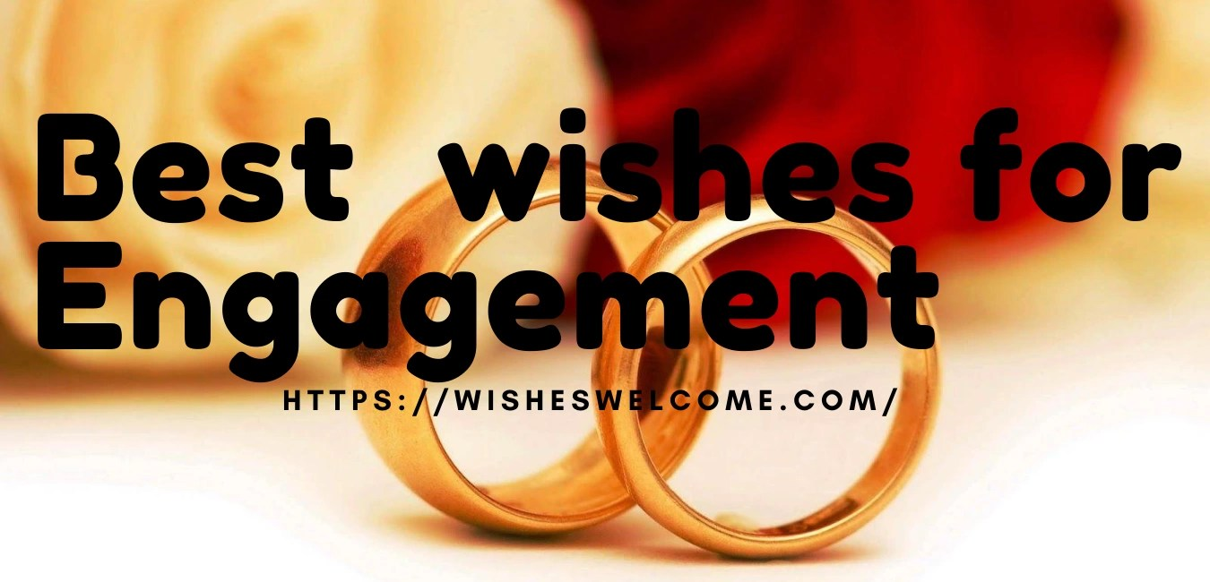 best wishes for engagement