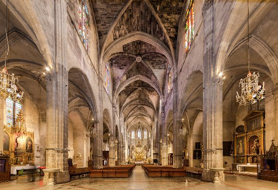 Iglesia de Santa Eulalia Palma Mallorca
