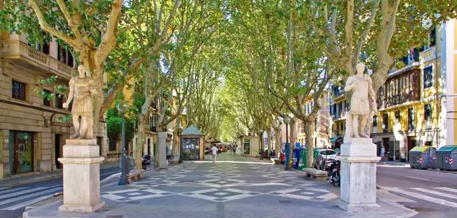 Rambla, Palma (Mallorca)