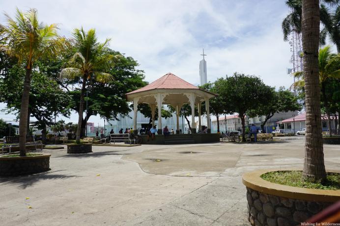 Main Square Liberia Costa Rica