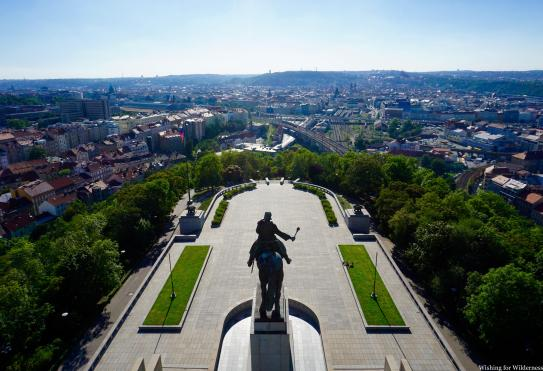 The national monument in Prague