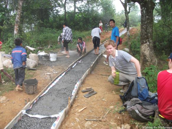 Project in Vietnam with a concrete path